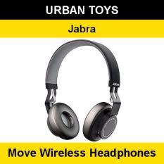 Compare Jabra Move Wireless Headphones 2 Years Warranty By Jabra Singapore Ultra Light Comfortable Coal Prices