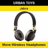 Brand New Jabra Move Wireless Headphones 2 Years Warranty By Jabra Singapore Ultra Light Comfortable Gold