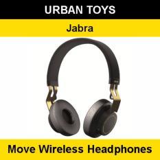 Best Jabra Move Wireless Headphones 2 Years Warranty By Jabra Singapore Ultra Light Comfortable Gold