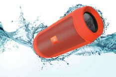 Jbl Charge 2 Splashproof Portable Bluetooth Speaker Orange Export Deal