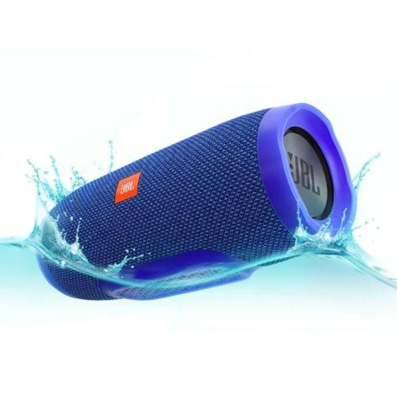JBL Charge 3 Portable Bluetooth Speaker (Blue) Singapore