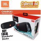 Best Jbl Charge 3 Portable Waterproof Bluetooth Speaker Black