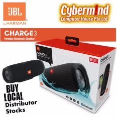 Compare Prices For Jbl Charge 3 Portable Waterproof Bluetooth Speaker Black