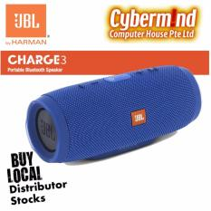 Compare Jbl Charge 3 Portable Waterproof Bluetooth Speaker Blue