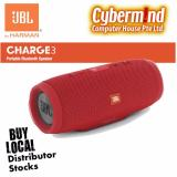 Buy Jbl Charge 3 Portable Waterproof Bluetooth Speaker Red Cheap On Singapore