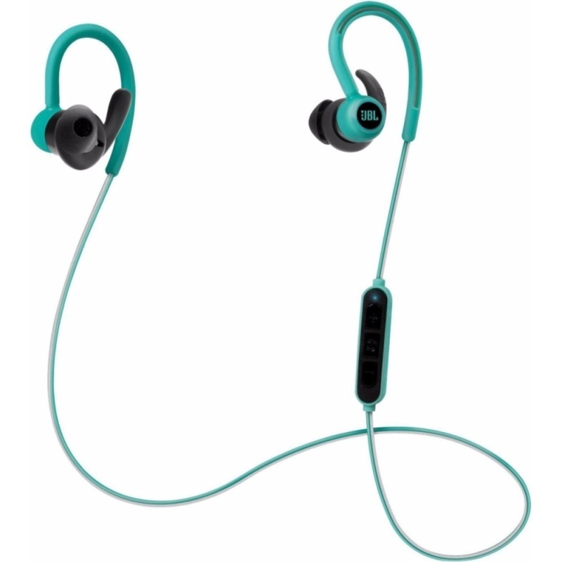 JBL Reflect Contour Secure Fit Wireless Sport Headphones Teal – (intl) Singapore