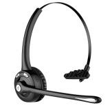 Price Comparisons Jdm Trucker Bluetooth Headset Cell Phone Headset With Microphone Office Wireless Headset Over The Head Earpiece On Ear Car Bluetooth Headphones For Cell Phone Skype Truck Driver Call Center Intl