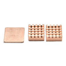 Jetting Buy 1 Set of Heatsinks 3 Pcs of Copper Heat Sink Cooling Kit for Raspberry Pi 3