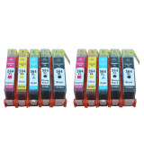 Retail Price Jiaing Compatible Ink Cartridge High Capacity For Hp 564 2Photob 2Black 2Cyan 2Meganta 2Yellow 10 Pcs