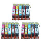 Discount Jiaing Compatible Ink Cartridge High Capacity For Hp 564 3Photob 3Black 3Cyan 3Meganta 3Yellow 15 Pcs China