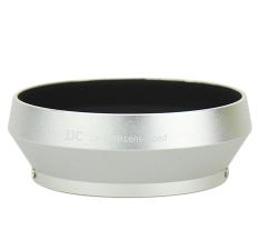 Best Reviews Of Jjc Lh J48B Silver Professional Lens Hood For Olympus 17Mm 1 8 Black Zuiko Lenses Replaces Olympus Lh 48B Intl