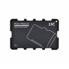 Where Can You Buy Jjc Memory Card Case For 10X Microsd Cards Gray Edition Mch Msd10 Intl
