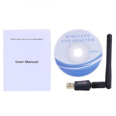 Justgogo 600M External Dual Band 2 4G 5G Antenna Wifi Usb Adapter Receiver Wireless Network Card Intl Price Comparison