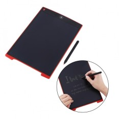 Justgogo Portable 12 Inch LCD Writing Tablet Digital Drawing Board for Adults Kids Red - intl