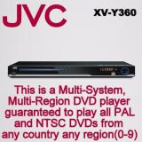 Sale Jvc Xv Y360 All Multi Region Free Dvd Player 5 1 Ch Hdmi 1080P Usb With Free Hdmi Cable Jvc Branded