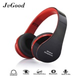 Jvgood Bluetooth Headphones Over Ear Hi Fi Stereo Wireless Headset Foldable Soft Memory Protein Earmuffs W Built In Mic And Wired Mode For Pc Cell Phones Tv Intl Online