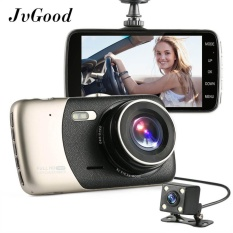 Price Comparisons Jvgood Dual Lens Dash Cam Car Camera Recorder Full Hd 1080P Front 720P Rear Lens 170° 120° Super Wide Angle Car Dvr Dashboard Camera With 4 Screen G Sensor Motion Detection Parking Mode Night Vision Loop Recording Intl
