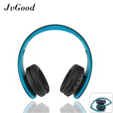 Jvgood Over Ear Bluetooth Headphones Foldable Wireless Bluetooth Stereo Headset Wired Headphone Earphone With Hands Free Call Working With Microphone All 3 5 Mm Music Device And Mobile Phone Black Blue Intl Jvgood Discount