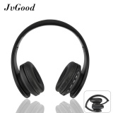 Jvgood Over Ear Bluetooth Headphones Foldable Wireless Bluetooth Stereo Headset Wired Headphone Earphone With Hands Free Call Working With Microphone All 3 5 Mm Music Device And Mobile Phone Black Intl Price
