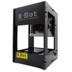 K-Bot V3 1000mW Laser Engraving Machine DIY Laser Printer Black - intl  Singapore