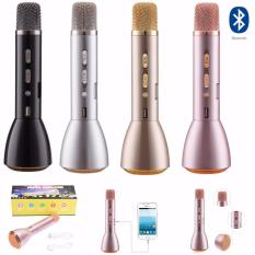 Sale K088 Black Bluetooth Microphone Mini Karaoke Player Wireless Condenser Microphone With Mic Speaker Ktv Singing Record For Smart Phones Accessories Atlantic Original