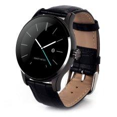 Sale K88H Mtk2502 Bluetooth Smart Watch Heart Rate Track Wristwatch Black Timezone On Singapore