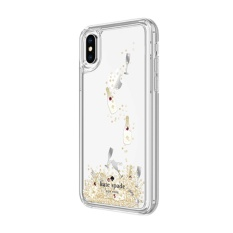 low priced 3842d cc6be Kate Spade New York Liquid Glitter Champagne Glass Case For iPhone X/XS