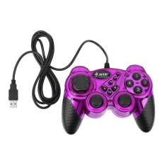 Kd906 Creative Item Usb Wired Game Controller Gamepad Joystick Joypad For A(purple) - Intl By Crystalawaking.