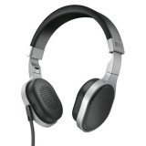 Great Deal Kef M500 Hi Fi On Ear Headphones Aluminum Black Intl