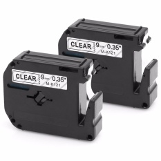 Get The Best Price For Kenight 2 Pack M121 M K121 Label Tape Compatible For Brother P Touch Labeler Black Print On Clear M Tape M K121Bz Mk121 9Mm X 8M Pt45M Pt55Bm Pt55S Pt65 Pt65Sb Pt70 Pt80 Pt85 Pt90 Pt100 Pt110 Intl