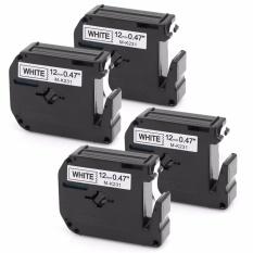 Compare Kenight 4 Pack M231 M K231 Label Tape Compatible For Brother P Touch Labeler Black Print On White M Tape M K231Bz Mk231 12Mm X 8M Pt45M Pt55Bm Pt55S Pt65 Pt65Sb Pt70 Pt80 Pt85 Pt90 Pt100 Pt110 Intl