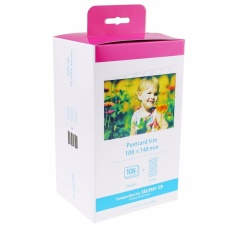 Kenight Kp 108In 3 X Ink And 108 Paper Sheets Compatible With Canon Selphy Cp Series Photo Printers 100 X 148Mm Postcard Size Cp780 Cp790 Cp800 Cp810 Cp820 Cp900 Cp910 Cp1000 Cp1200 Intl Lower Price
