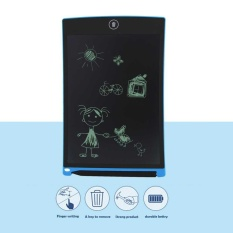 Kid Digital LCD Writing Tablet Pad Electronic Drawing Graphics Board Notepad New - intl