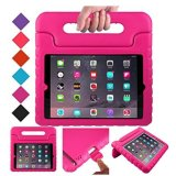 Brand New Kids Shockproof Handle Light Weight Eva Protective Stand Kids Case For Apple Ipad Air Ipad 5 Intl