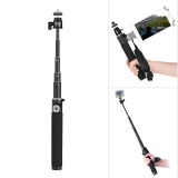 Kingjoy H100D 63 Extendable Selfie Stick Extension Pole Rod Aluminum Alloy With 1 4 Scr*W For Dji Osmo Handheld Stabilizer For Gopro Hero5 4 3 3 Action Camera Intl Shop