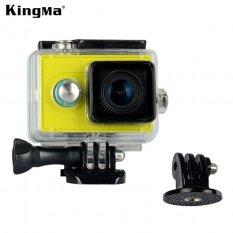 Lowest Price Kingma Original Xiaomi Yi Camera Waterproof Case Mi Yi 40M Diving Sports Waterproof Box Yi Action Camera Aksesoris Accessories Intl