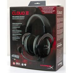 Kingston Hyperx Cloud Ii Headset Gunmetal Hyperx Cloud Ii Pro Gaming Headset Black Khx Hscp Gm Free Shipping