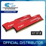 Sales Price Kingston Hyperx Fury 16Gb 2X8Gb Ddr4 2666Mhz Cl16 1 2V Dimm Red Desktop Memory