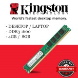 How To Get Kingston Value Ram 4Gb 1600Mhz Pc3 12800 Ddr3 Non Ecc Cl11 Dimm Sr X8 Desktop Memory Kvr16N11S8 4