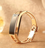 Coupon Kisnow Smart Bluetooth Sports Bracelet Smart Watches Color Gold Intl