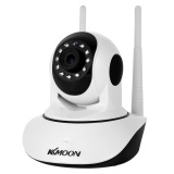 Retail Kkmoon 720P Wireless Wifi Pan Tilt Hd Ip Camera 1 0Mp 1 4 Cmos 3 6Mm Lens Support Ptz Two Way Audio Night Vision Phone App Control Motion Detection Tf Card Intl