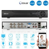 Discounted Kkmoon� 8Ch Channel Full 1080N 720P Ahd Dvr Nvr Hdmi P2P Cloud Network Onvif Digital Video Recorder Support Plug And Play Android Ios App Free Cms Browser View Motion Detection Email Alarm Ptz For 2000Tvl Cctv Security Camera Surveillance System Intl