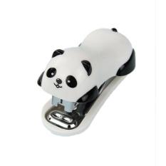 koklopo Back to School Supplies Panda Design Mini Stapler with Stapler Needle - intl