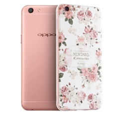 Retail Korea Style Sculpture Painting Tpu Silicone Soft Case Cover For Oppo A77 Intl