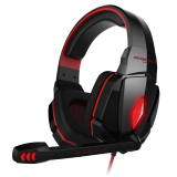 Sale Kotion Each G4000 Stereo Noise Cancelling Gaming Headset W Mic Hifi Driver Led Light For Pc Red Black Online Singapore