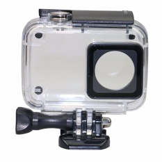 Deals For Kupton Waterproof Diving Protective Housing Case With Bracket For Xiaoyi 4K Xiaomi Ii Yi Lite Action Camera Intl
