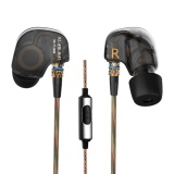 Buying Kz Ate 3 5Mm In Ear Earphones With Mic Hifi Stereo Headphones Super Bass Noise Canceling Sport Headset Intl