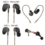 Kz Ate Copper Driver Hifi Professional In Ear Earbuds Stereo Headphone Shopping