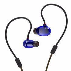 Buy Kz Zs2 Dual Dynamic Driver Headphones Noise Cancelling Stereo In Ear Monitors Hifi Earphone Intl Online