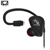 Cheaper Kz Zs3 Ergonomic Detachable Cable Earphone In Ear Audio Monitors Noise Isolating Hifi Music Sports Earbuds Without Microphone Intl